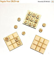 Tic Tac Toe Favors For Wedding Bridal Shower Or Other Event Wood Mini Xs And Os