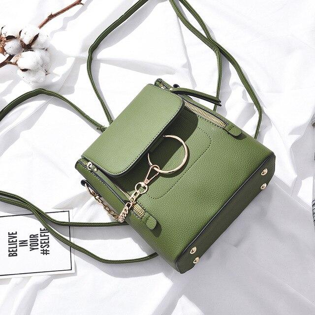 2019 New Fashion PU Leather Women Backapck Mini Women Shoulder Bags Teenager School Backpack Bag Ladies Backpacks S131