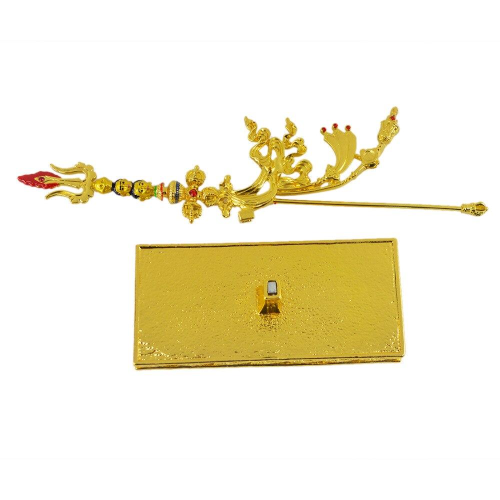 2017 Գուրու Rinpoche W2388- ի նոր Feng Shui ոսկե - Տնային դեկոր - Լուսանկար 6