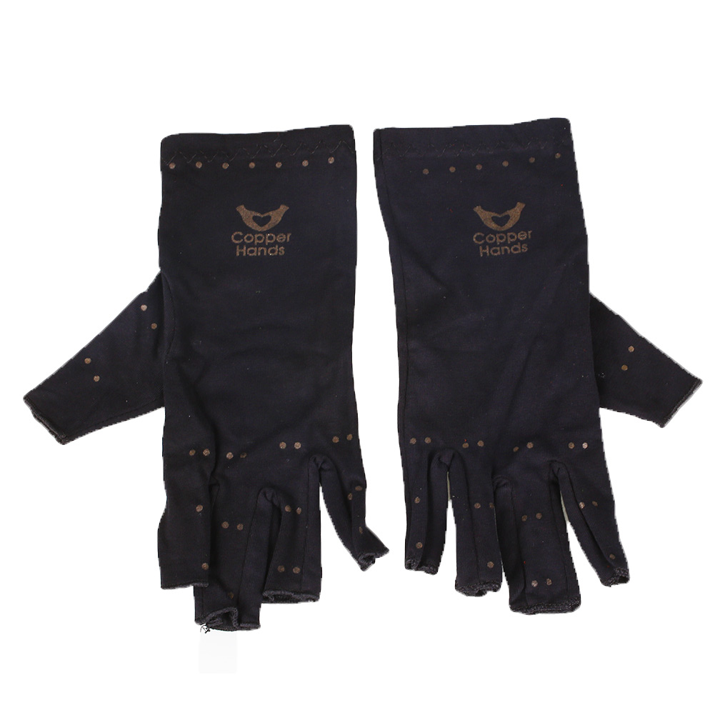 Driving gloves for arthritic hands - Pair Arthritis Copper Fibers Gloves Hands Circulation Therapeutic Unisex China Mainland