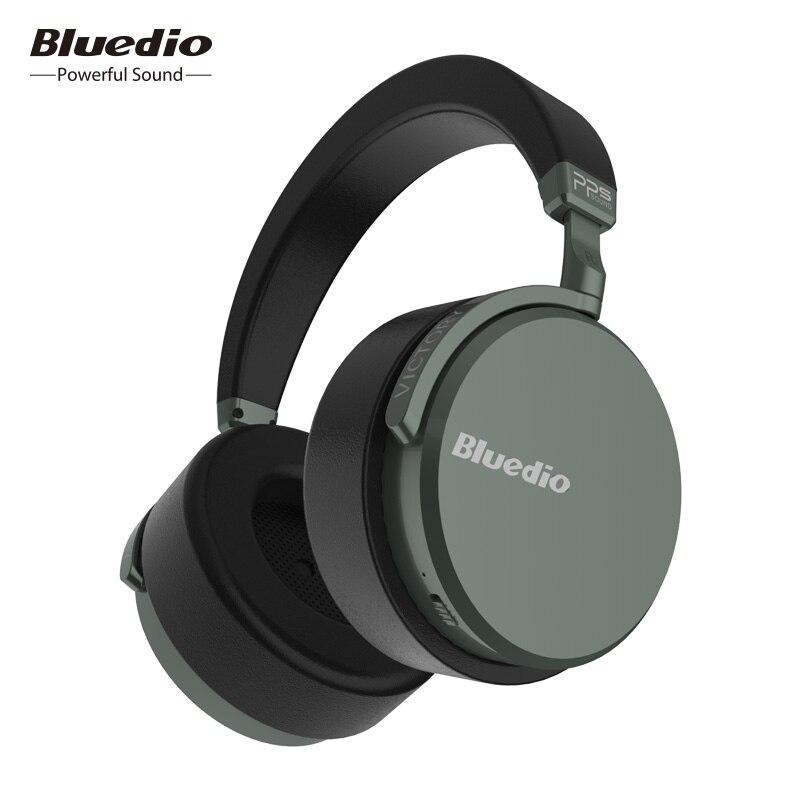 Bluedio V2 casque Bluetooth casque sans fil PPS12 pilotes avec microphone casque haut de gamme pour téléphone et musique