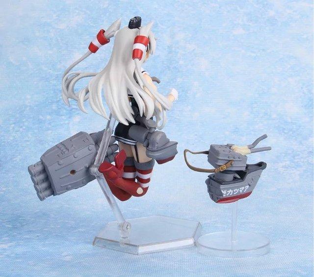 14cm Kantai Collection Action Figures Anime PVC brinquedos Collection Model toys Free shipping