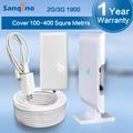 Amplificador de Señal de Teléfono móvil GSM 900 MHZ Teléfono Celular Amplificador Repetidor con Antena + 10 M de Cable para uso en el hogar