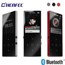 2019Original MP3 Player Bluetooth and 8G Original Lossless Touch Screen Key MP3 Music Player Sport Recorder E-Book BENJIE K8