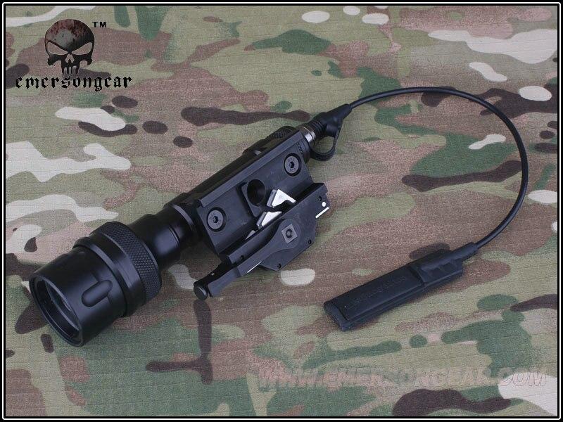 EMES 620 В СВЕТОДИОДНЫЙ Тактический Фонарь/BK пистолет фонарик