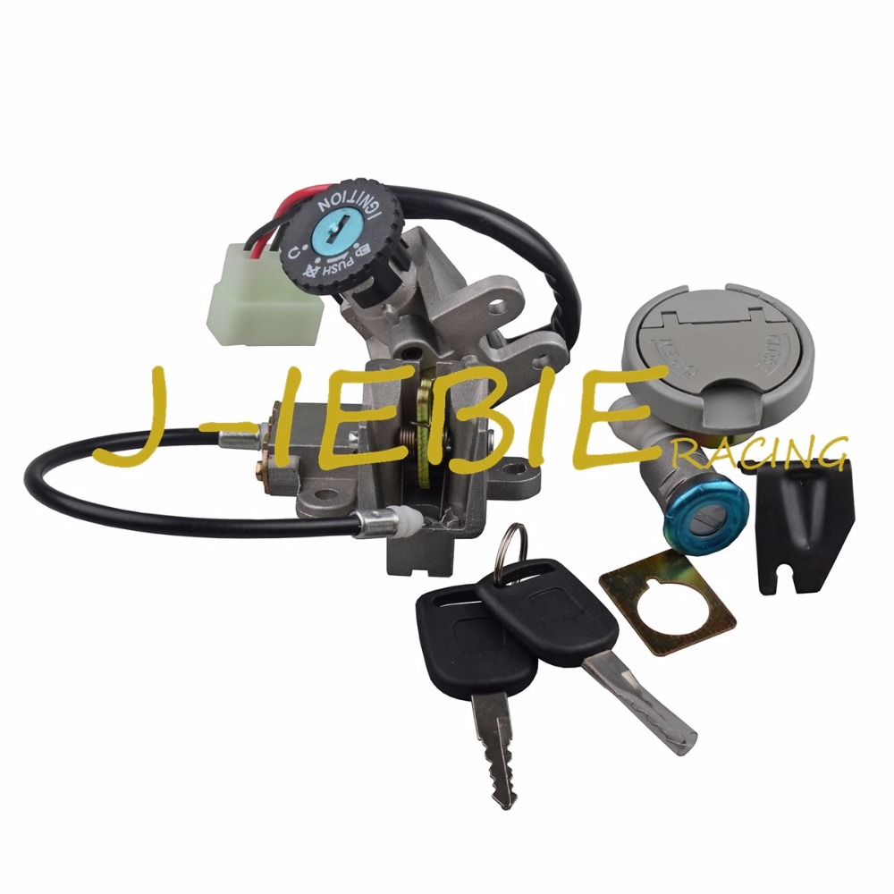 Ignition Switch Seat Gas Cap Lock For LIFAN PONY 50 TAOTAO ATM50 50CC Baotian BT49QT-9 BT50QT-9 Scout 49 50 Lance GTR 50