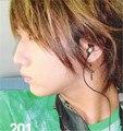 Оптовая kpop SS501 Ким Хен Чжун Хо Янг Saeng Черный Крест бисер серьги FR079