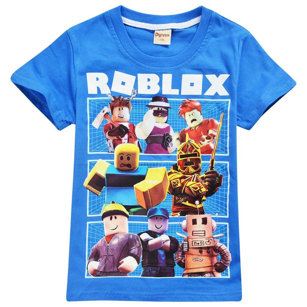Roblox Builders Gamer Kids Gamer Cartoon Holiday Boys Girls Birthday T shirt 768