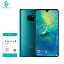 For Huawei Mate 20/20X 9H HD Temperli Cam Nillkin H + Pro 0.2 MM Şeffaf Ekran Koruyucu For huawei Mate için 20 X Filmi
