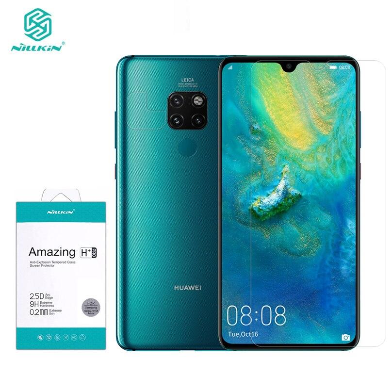 Huawei Mate 20/20X 9H HD verre trempé Nillkin H + Pro 0.2 MM protecteur d'écran Transparent pour Huawei Mate 20 X Film