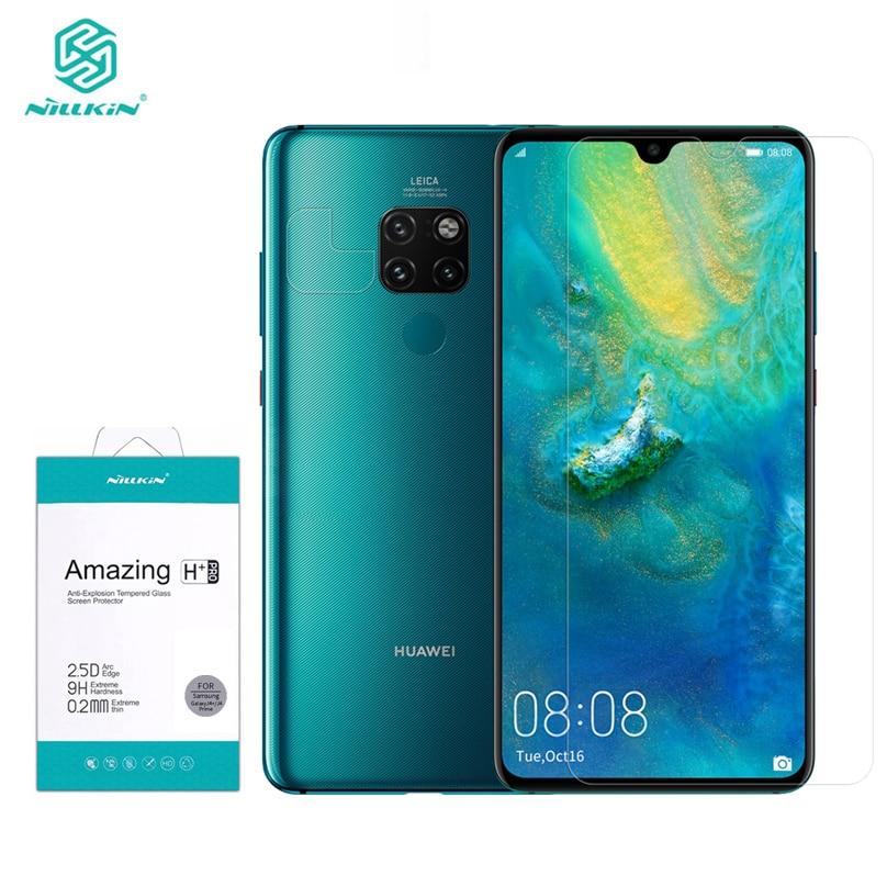 Per Huawei Compagno di 20/20X 9H HD Temperato Protezione Dello Schermo di Vetro Nillkin H + Pro 0.2 MILLIMETRI Trasparente per Huawei Compagno di 20 X Pellicola