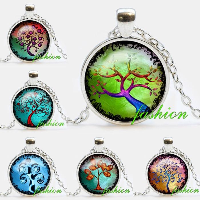 Tree of life pendant necklace tree of life jewelry tree necklace tree of life pendant necklace tree of life jewelry tree necklace nature jewelry mystical tree necklace handmade jewelry pendants aloadofball Choice Image