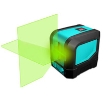 Лидер продаж Профессиональный горизонтальный и вертикальный зеленый лазер Измеритель Уровня 2 линии Высокая производительность лазерный