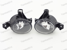 1Pair Front Bumper Fog Light Fog Lamps w o Bulb For BMW X5 E70 2007 2010