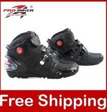 Botas Moto SPEED Pro biker Bikers Moto Racing botas Motocross motociclieta zapatos A9003 talla grande