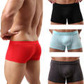 Selling Brave Mens Boxer Shorts Regenerated Fibre Soft Underwear Sexy Comfortable Pants 8 Colors With High Quality