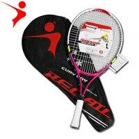 Высококачественная теннисная ракетка Raquette для подростков, Детские теннисные ракетки с сумкой для переноски