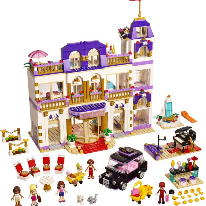 Pogo gifts BL10547 Girls Friends Building Blocks Bricks Toys Compatible Legoe compatible legoe giftse 1118pcs 10170 series housework time panorama 3185 girls friends building blocks bricks toys
