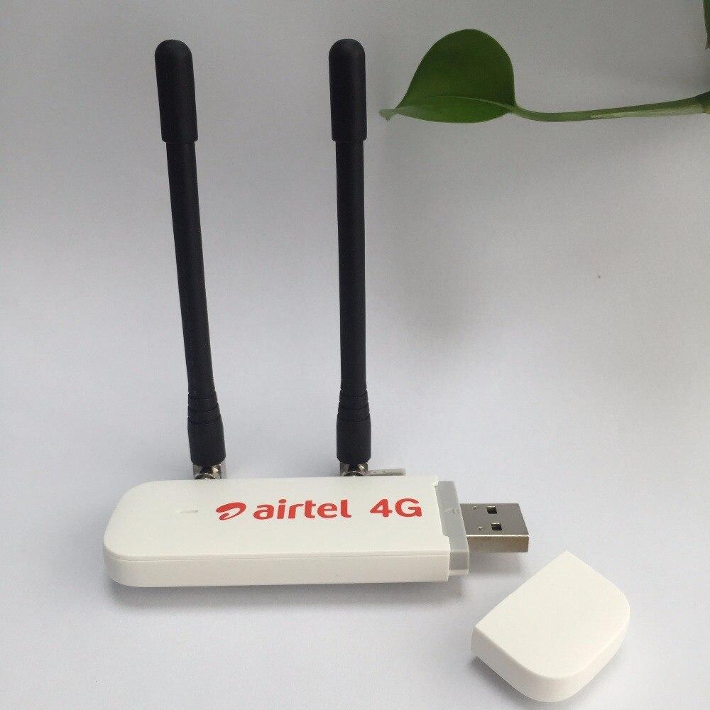 Débloqué Huawei E3372 E3372h-607 plus paire antenne 150 Mbps Modem 4G LTE Dongle USB 4G FDD-LTE 2100 1800 2600 900 Bande 28 Band40