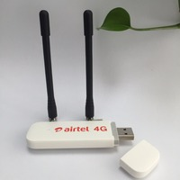 Unlocked Huawei E3372 E3372h 607 Plus Pair Antenna 150Mbps Modem 4G LTE Dongle USB 4G FDD