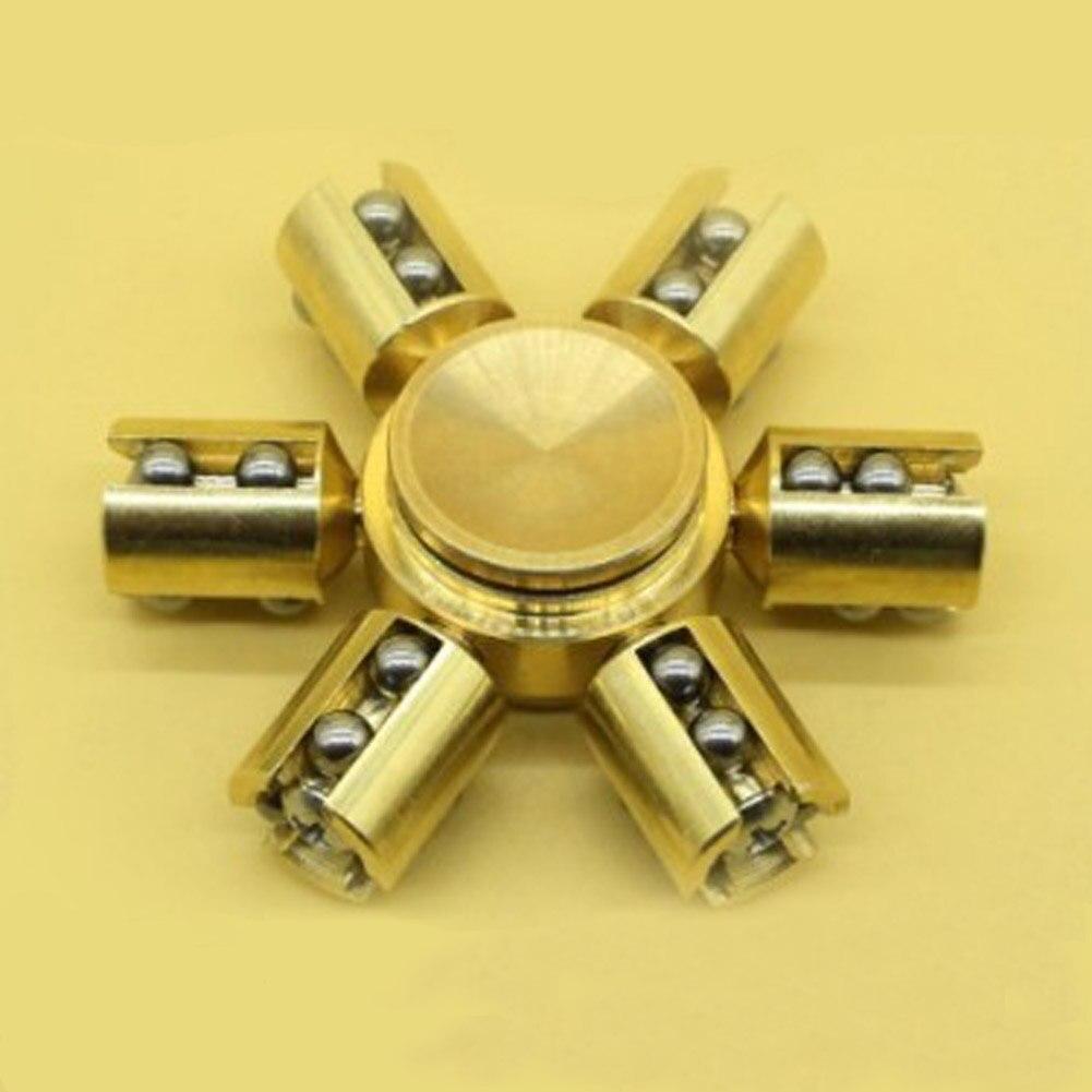 New Luminous HandSpinner Torqbar Brass Puzzle Finger Toy EDC Handspinner ADHD Austim Learning toys