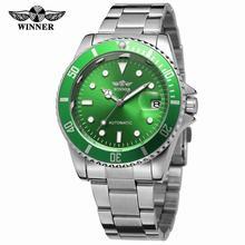 2018 Fashion Winner Men Luxury Brand Date Display Stainless Steel Watch Automati