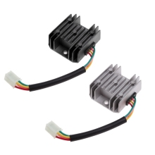 High Quality 1 Pc ATV GY6 50 150cc Scooter 4 Wires Voltage Regulator Rectifier Motorcycle Boat 10166