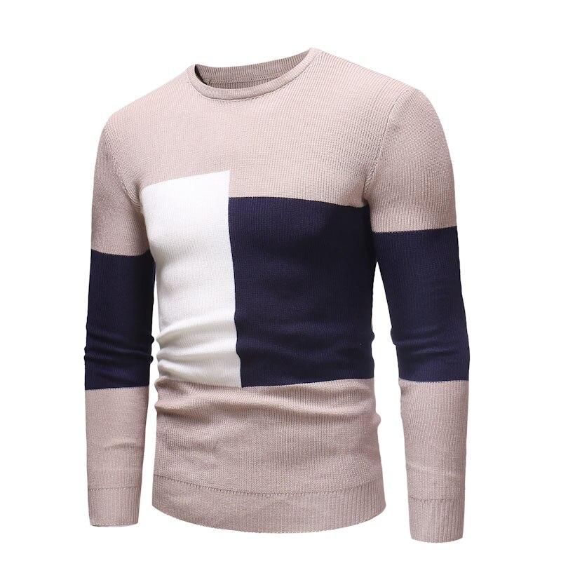 2018 marque sociale coton mince hommes de pull pulls casual chandail tricoté hommes jersey vêtements G201