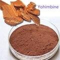 50g clorhidrato de Yohimbina Yohimbe extracto de planta Viagra polvo hombres mejora sexo Afrodisíaco