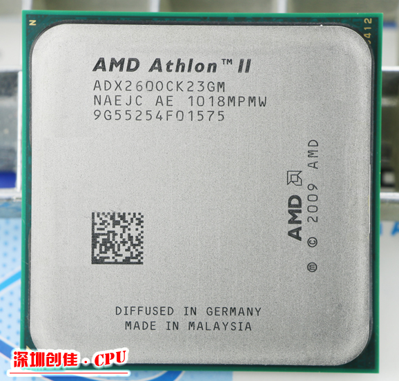Free Shipping for AMD Athlon II X2 260 3.6GHz AM3 938-pin Processor 65W Dual-Core 2M Cache 45nm Desktop CPU scrattered pieces