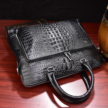 870bfdfe4dc3c Toptan yüksek kalite hakiki deri laptop çantası 14 15.4 inç Erkekler Rahat  omuzdan askili çanta Messenger Dizüstü çantası 100% Inek Deri