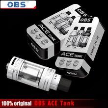 Оригинал OBS ACE Танк 4.5 мл с Керамическим 0.85 Катушки С РБА Катушки OBS ACE Распылитель для 510 Потоков Батареи