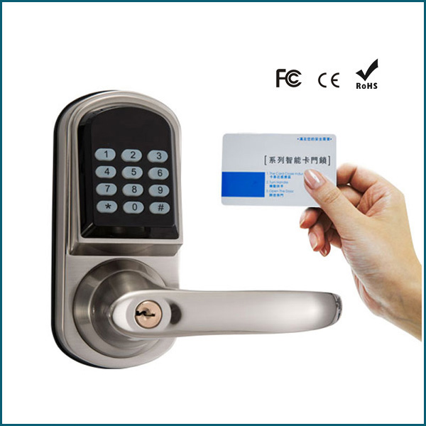 Apartment Office Use Remote Control M1 Card Digital Keypad Electronic Door Lock my apartment