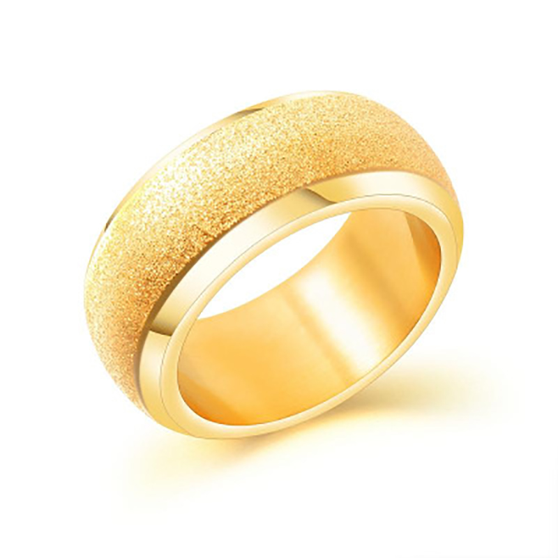 2019 Basic Wedding Bands Rings For Women Men Customize Name Date Gold Color Wide Anniversary Personalized Jewelry Gift VR433 pre-engagement ring