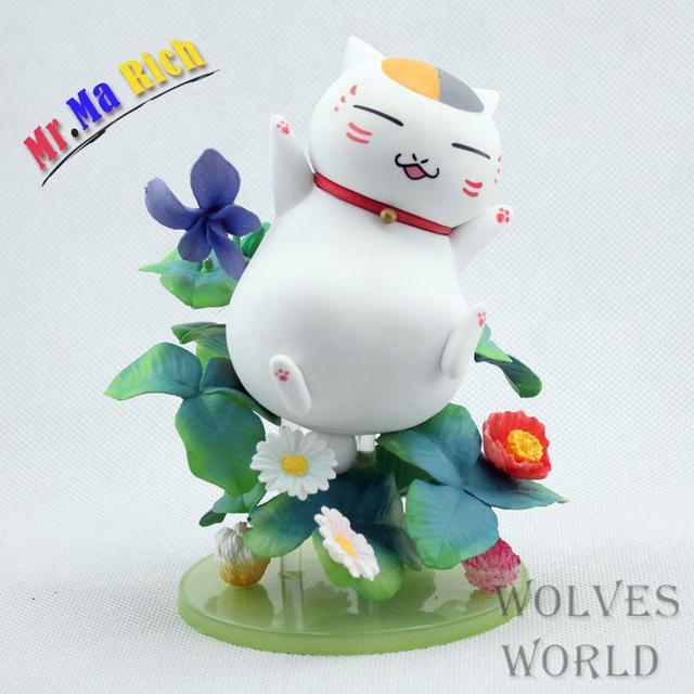 Anime Rysunek 13 Cm Natsume Yuujinchou Nyanko Sensei Biały Kot Pcv