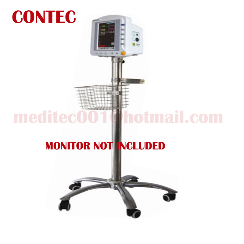 Mobile trolley Mobile Car CONTEC BRAND Rolling Stand wheel for ICU Patient Monitors CMS6000, CMS6500, CMS7000, CMS8000, CMS9000 ashok yadav r d askhedkar and s k choudhary synthesis and simulation of trolley for patient handling