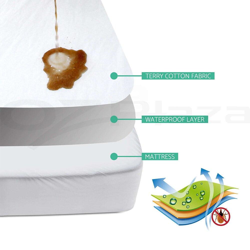 Wieg maat 72X132cm Baby waterdichte wieg matrashoes-gewatteerde ultra - Beddegoed - Foto 2