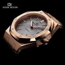Didun mode casual hommes montres top marque de luxe montre montre à quartz d'affaires hommes montres lumineux 30 m résistant à l'eau