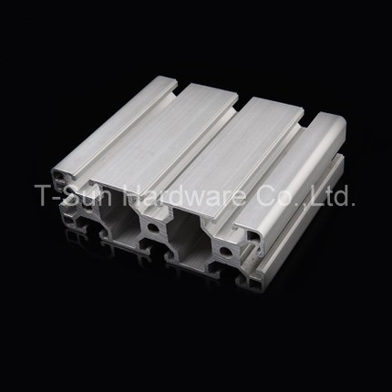 Aluminum Profile Aluminum Extrusion Profile 40120 40*120 Commonly Used In Assembling Device Frame, Table And Display Stand