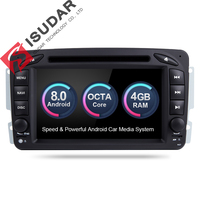 Android 6 0 Two Din 7 Inch Car DVD Player For Mercedes Benz W209 W203 W163
