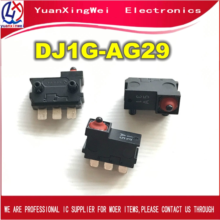 5pcs/lot DJ1G-AG29 Waterproof Micro Switch Vertical Small Limit Travel Switch
