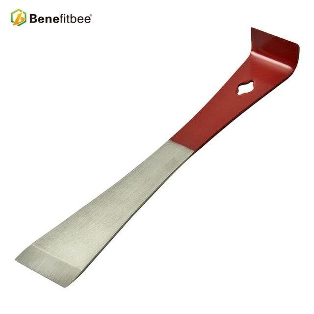 Benefitbee Bienenzucht Werkzeuge Bee Hive Werkzeuge Honig S für Schaber Reinigung Rot 26 cm Beehive Bienenzucht Ausrüstung Imker