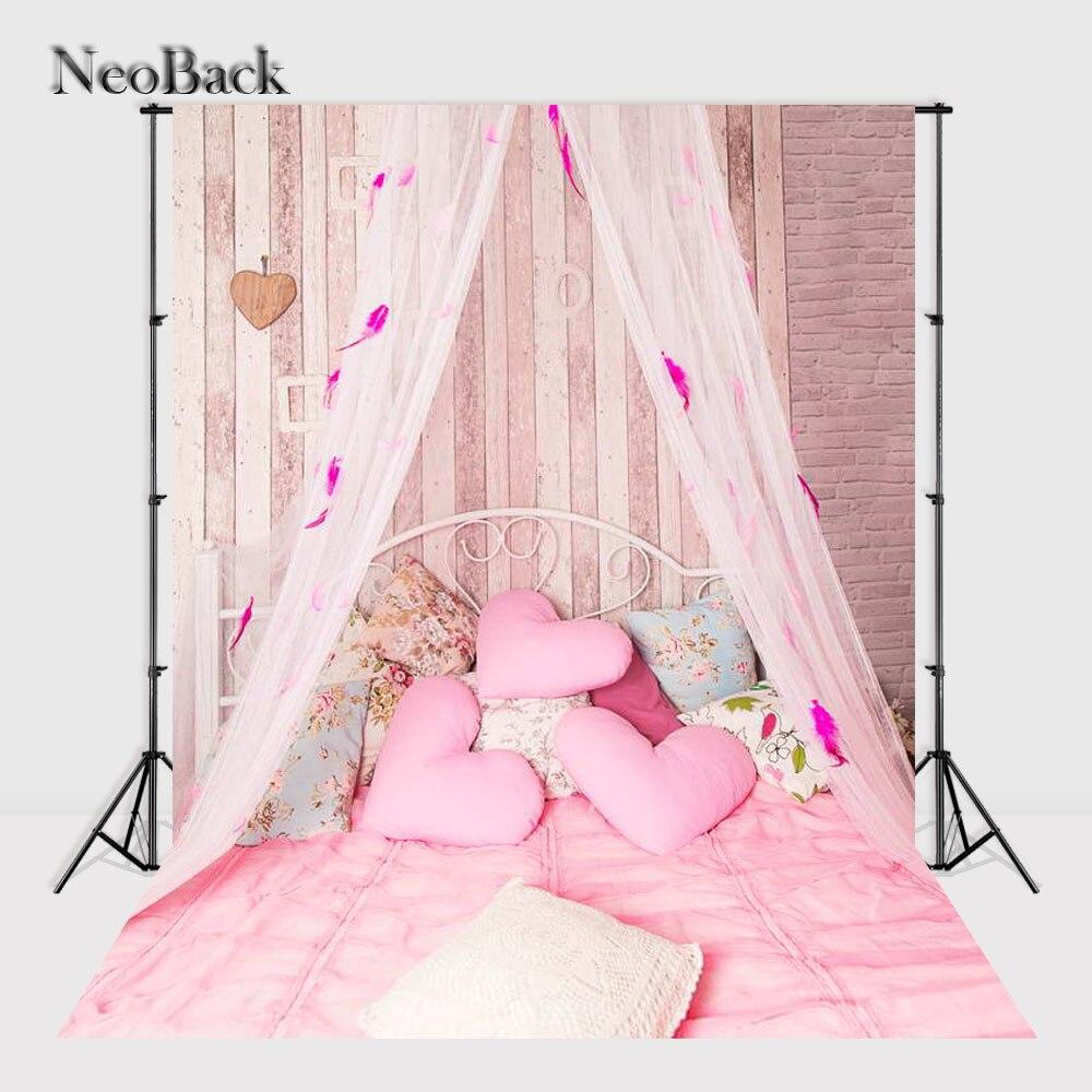 Neoback 5x7ft Компьютер покрасил детский виниловая ткань фон новорожденного полог сцены фотостудии фоны a1254