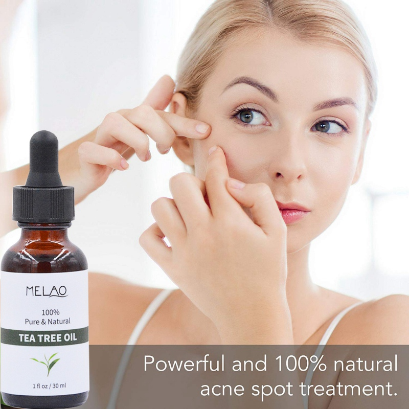 30ml Pure Tea Tree Essential Oils For Acne Treatment Anti-Wrinkle Hydrating Oil-control Face Skin Care image