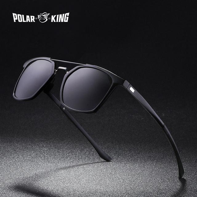 POLARKING 019 Aluminum Frame Polarized Sunglasses