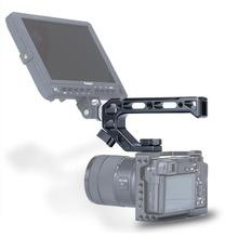 UURig R008 Universal Arri Camera Top Handle Grip Cold Shoe With  1/4 3/8 Holes for Monitors Microphones to Sony Nikon