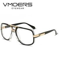 VMOERS Square Luxury Eyewear Frames Aviator Style Clear Optical Myopia Glasses Frame Men Fashion Fake Eyeglasses