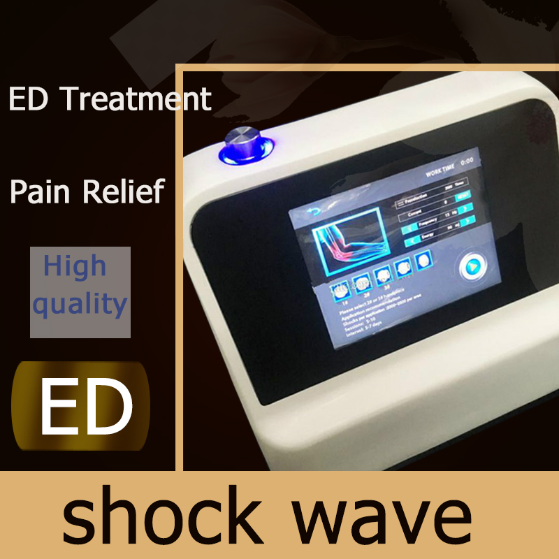 Porfessional Shock Wave Therapy Equipment With CE Treat Body Pain,shock Wave Break Fat Cell Back Pain Relief Massage Mahcine