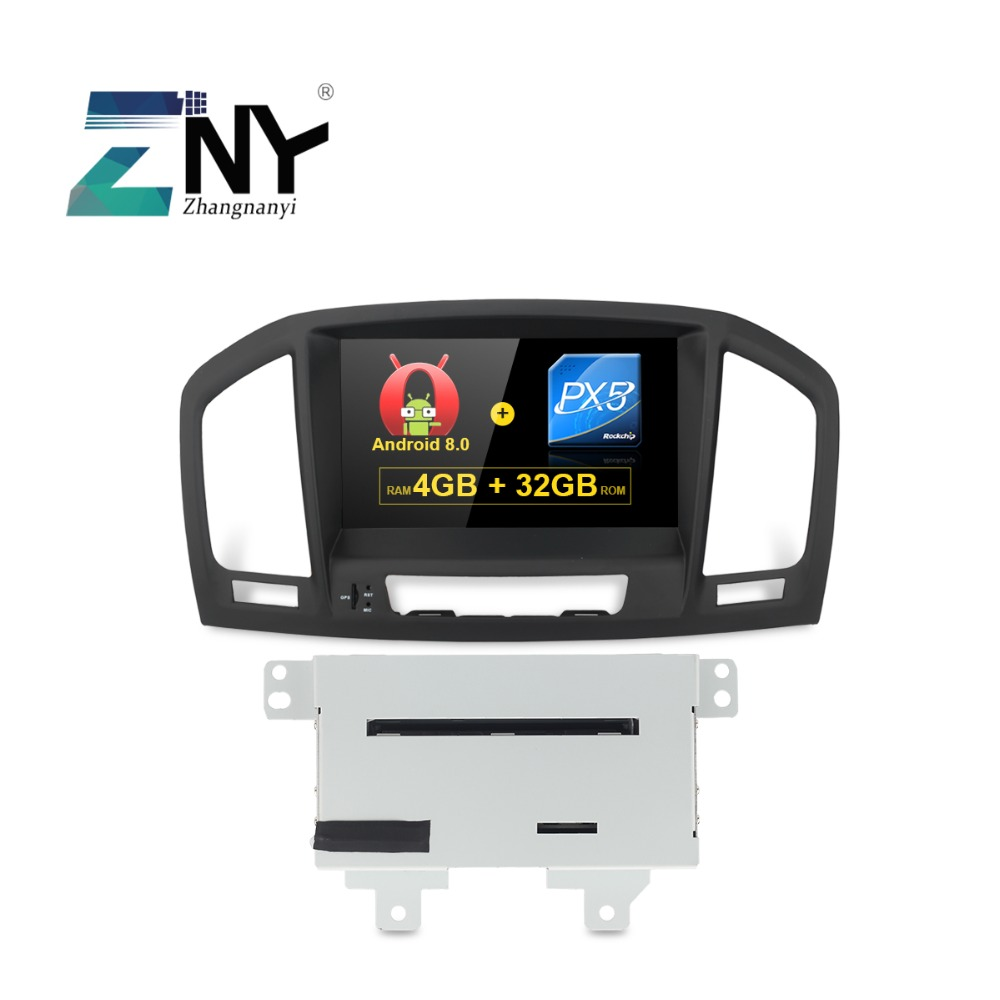4GB RAM 8 Android 8.0 Car Stereo For Opel Vauxhall Insignia 2009 2010 2011 2012 DVD GPS Navigation Radio FM Audio Video System