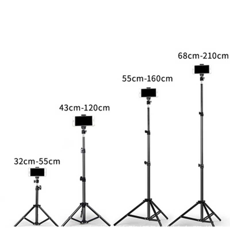 Anchor live photo shooting video fill light tripod landing models shaking sound fast mobile phone live Beauty bracket light